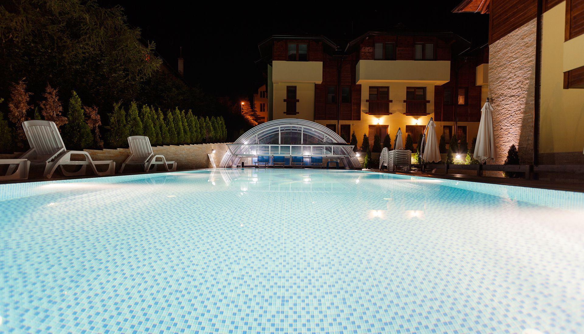 Spa and swimming pool on Zlatibor